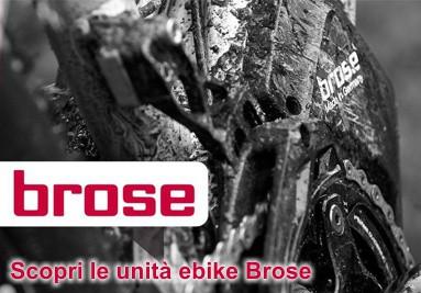 Le unita' ebike Brose